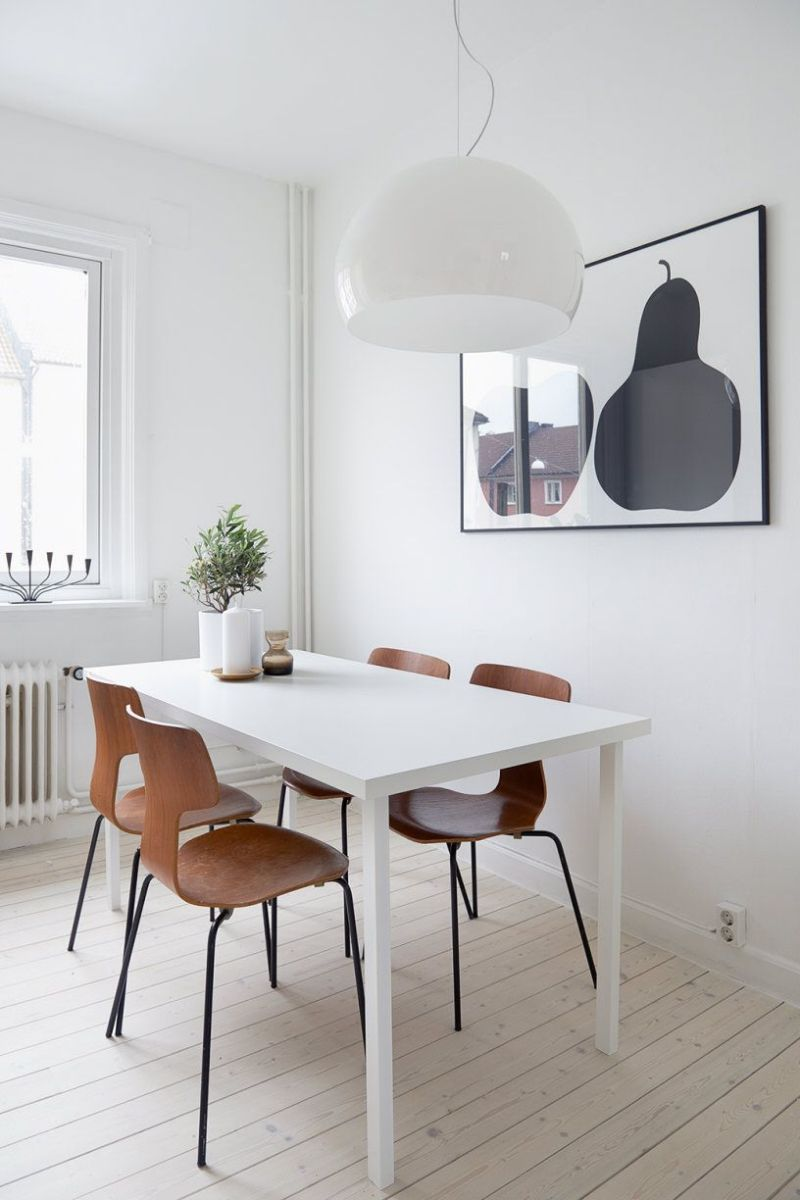 10 Narrow Dining Table Designs For a Small Dining Room