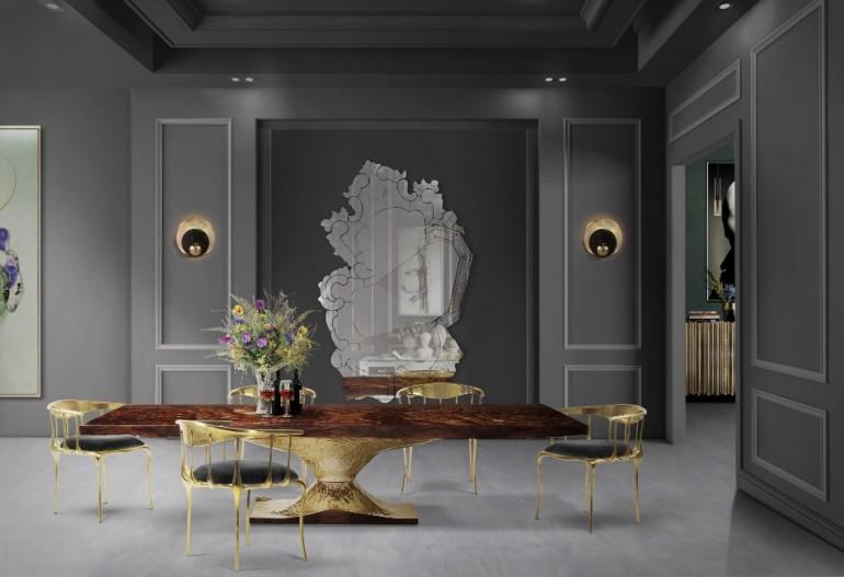 The Most Amazing Dining Table To See at Maison et Objet 2018 | www.bocadolobo.com #maisonetobjet #maisonetobjet2018 #paris #moderndiningtables #exclusivedesign #diningroom #thediningroom #diningarea @moderndiningtables
