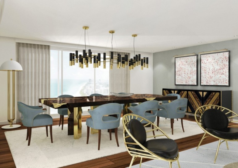 Top 2018 Modern Dining Tables Trends on Pinterest