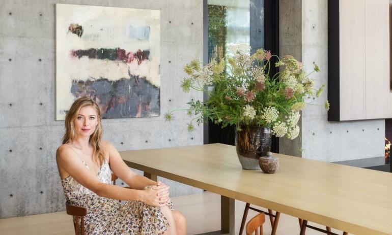 Maria Sharapova S Modern House In La