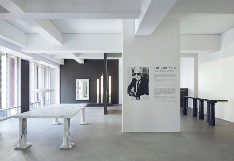 Architectures - An Exhibition by Karl Lagerfeld At Carpenters Workshop Gallery