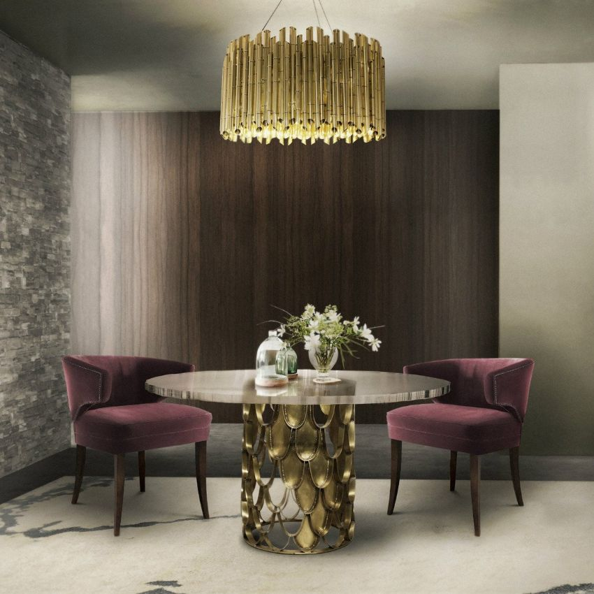Embrace Velvet In Your Dining Room - Modern Dining Chairs You Must See