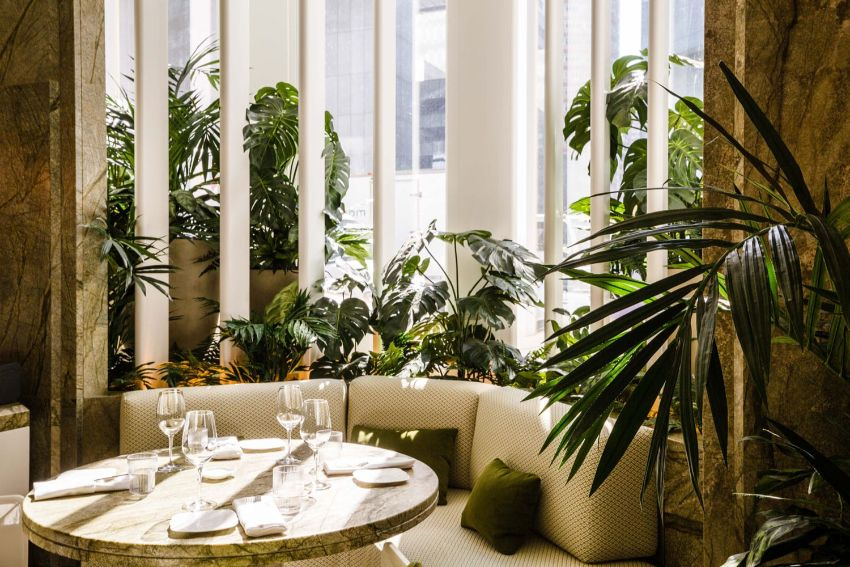 Le Jardinier - A Luxury Dining Experience In New York by Joseph Dirand