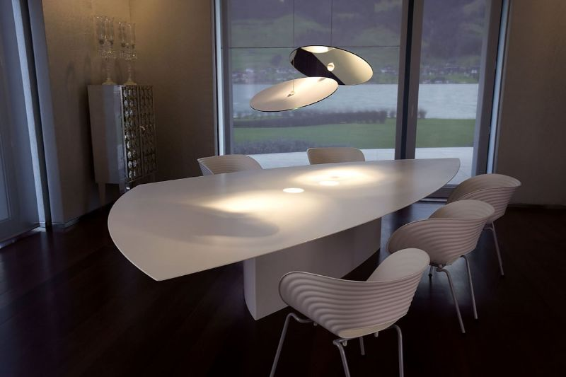 Oustanding Dining Room Lighting Ideas Designed by Ingo Maurer