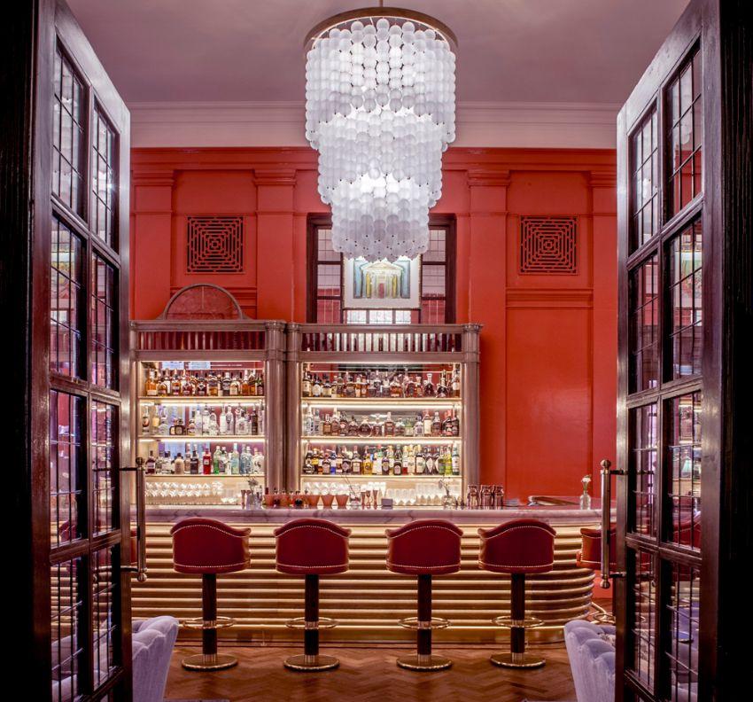 The Coral Room – A Vibrant Luxury Bar Designed By Martin Brudnizki