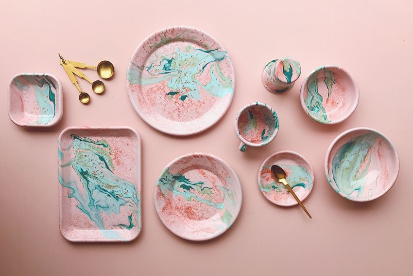 The Power Of Craftsmanship - Trendy Luxury Tableware by BORNN