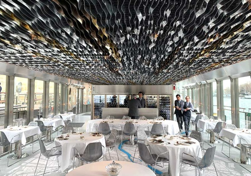 Ducasse Sur Seine - 19th-century Inspired Glass Floating Restaurant