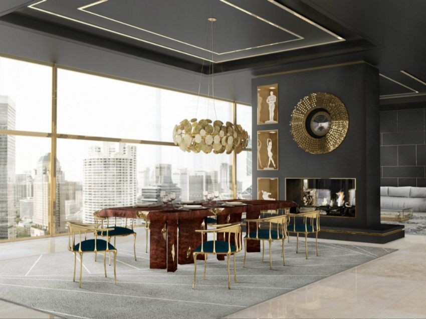 Learn With Interior Design: Modern Dining Tables Inspired By History