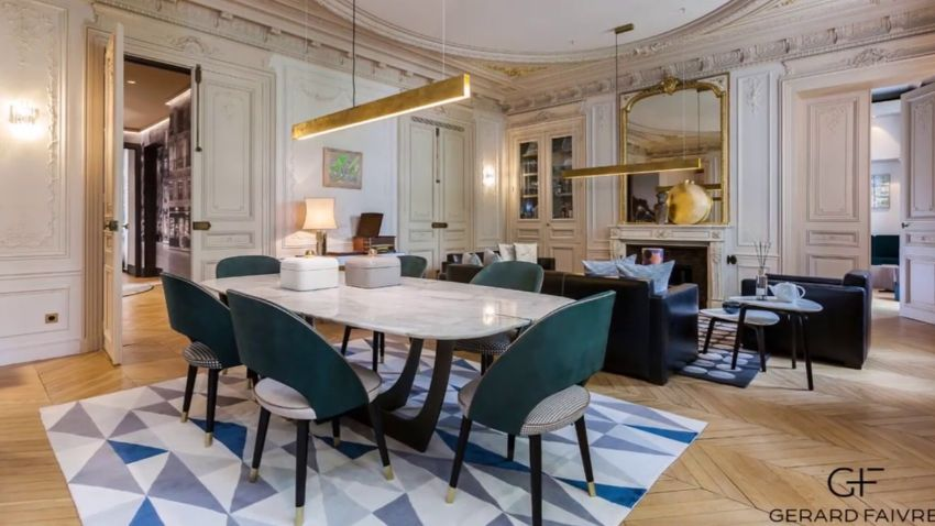 Luxury Dining Room Designs by Gérard Faivre