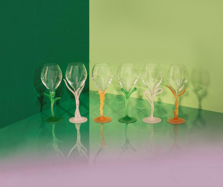 Metamorphosis - The New Crystal Glasses by Perrier-Jouët and Analogia Project