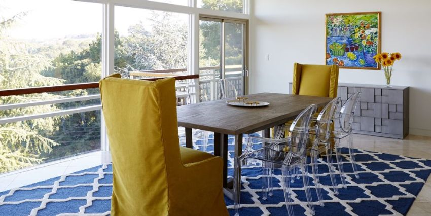 10 Modern Dining Room Ideas With Acrylic Dining Chairs