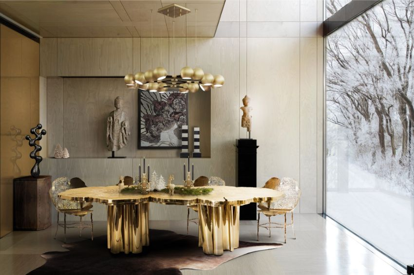 Modern Rugs For Your Dining Room Design