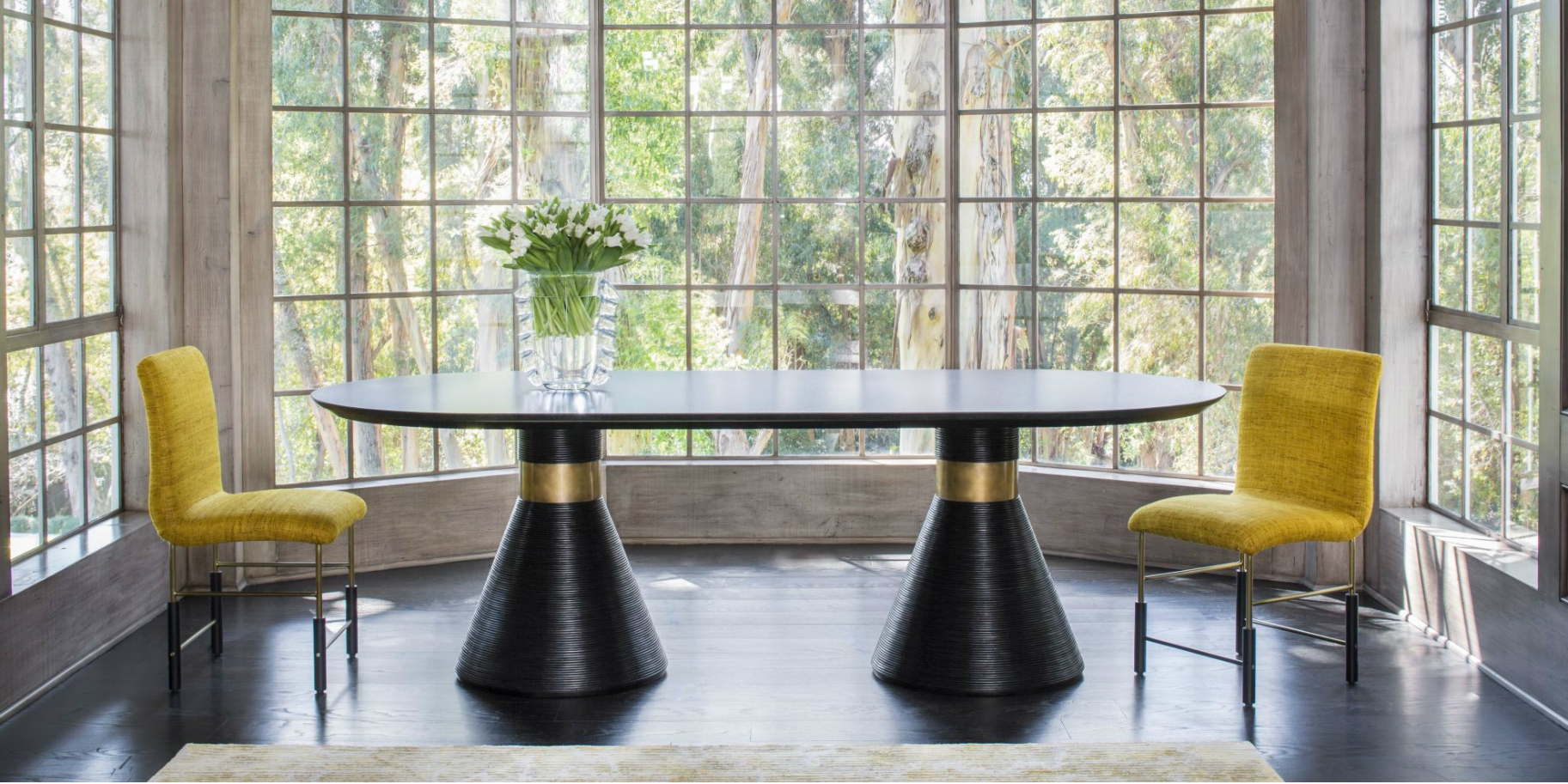 Luxury Dining Table Designs By Kelly, Kelly Wearstler Dining Room Chairs