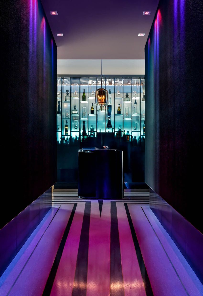 APEX Rooftop Bar - Luxury Interior Design by Studio Munge studio munge A Rooftop Wonder by Studio Munge That Overlooks Las Vegas APEX Rooftop Bar Luxury Interior Design by Studio Munge 3