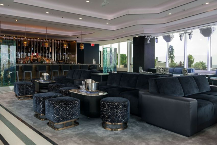APEX Rooftop Bar - Luxury Interior Design by Studio Munge studio munge A Rooftop Wonder by Studio Munge That Overlooks Las Vegas APEX Rooftop Bar Luxury Interior Design by Studio Munge 4