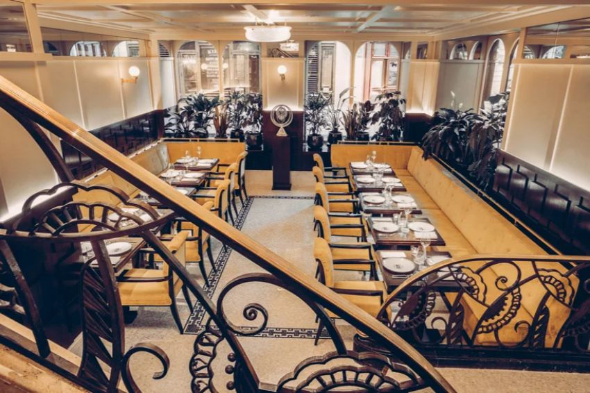 Drouant Fine Restaurant Has Reopened - Interior Design by Fabrizio Casiraghi