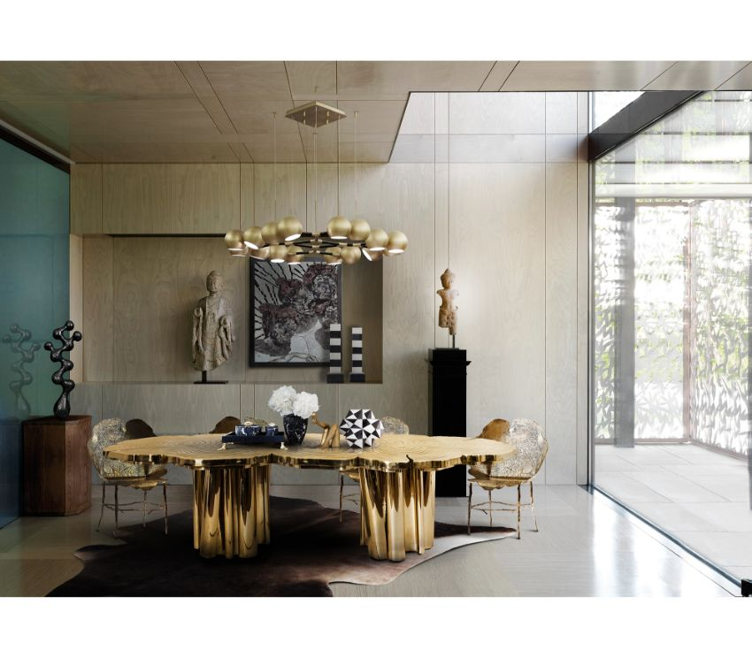 Fortuna Silver: Discover This New Luxury Dining Table by Boca do Lobo