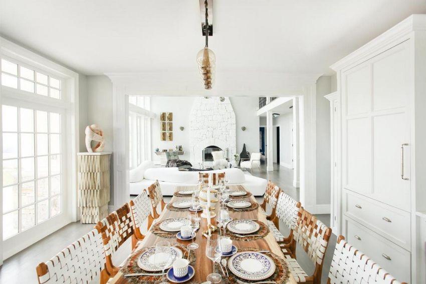 Inspiring Dining Rooms by Top Interior Designer Sasha Bikoff