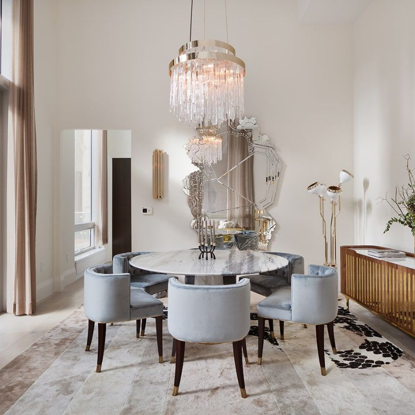 Luxury Mirror Designs For A Stylish Dining Room