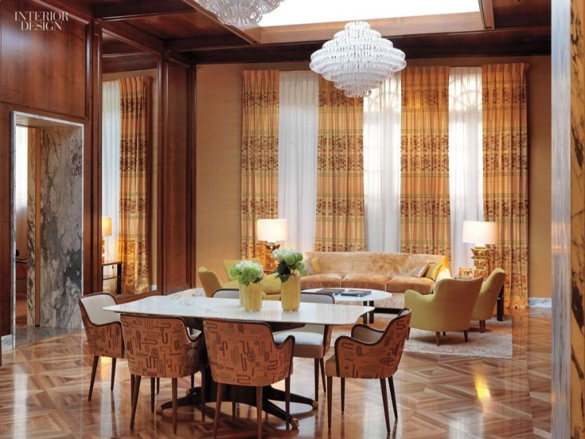10 Modern Dining Room Designs by Peter Marino