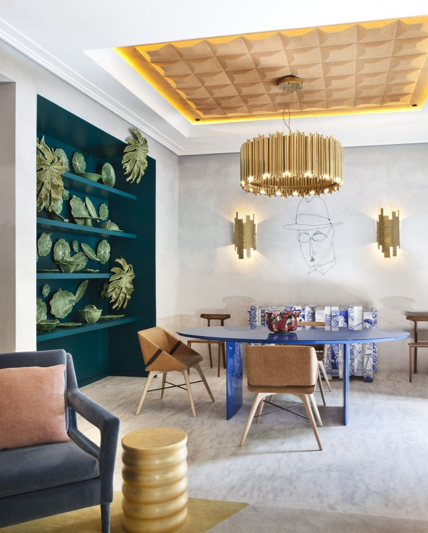 Pantone Color Of The Year 2020 Dining Room Ideas In Classic Blue