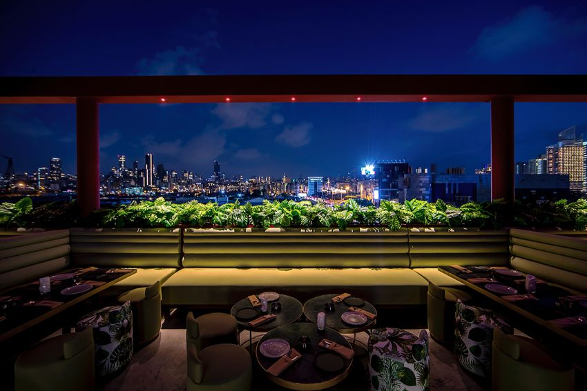 Discover This Contemporary Rooftop Bar in Beirut Inspired By Asian Temples