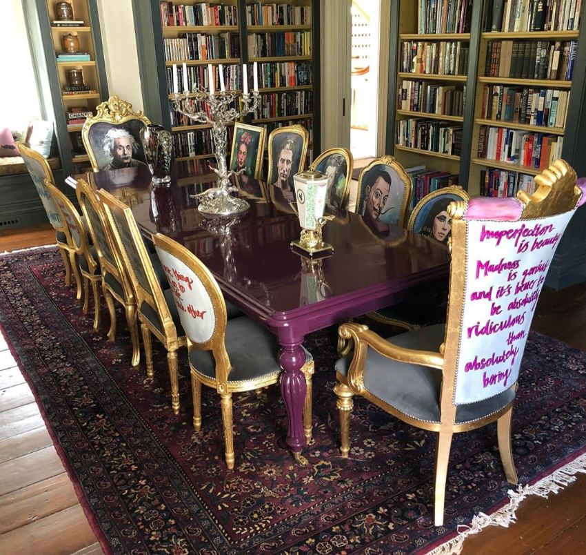 Exclusive Dining Table and Chair Designs by Jimmie Martin