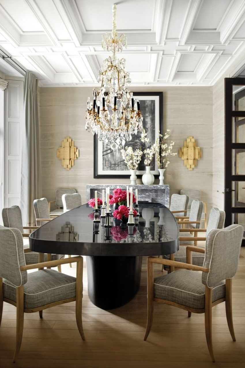 Exquisite Dining Rooms With A Modern Lighting Design