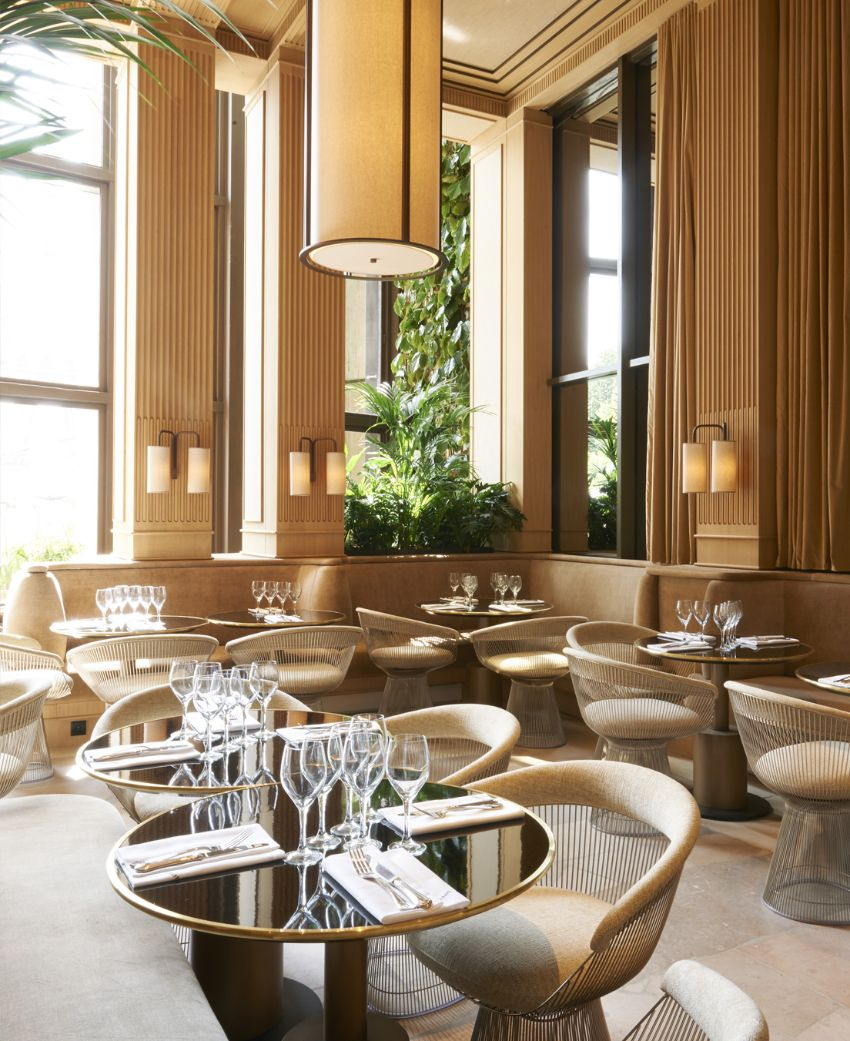 Girafe - Modern Restaurant Design in Paris by Joseph Dirand