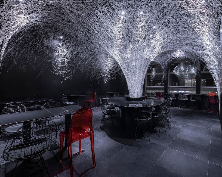How A Sculpture Changed This Restaurant Interior Design In China
