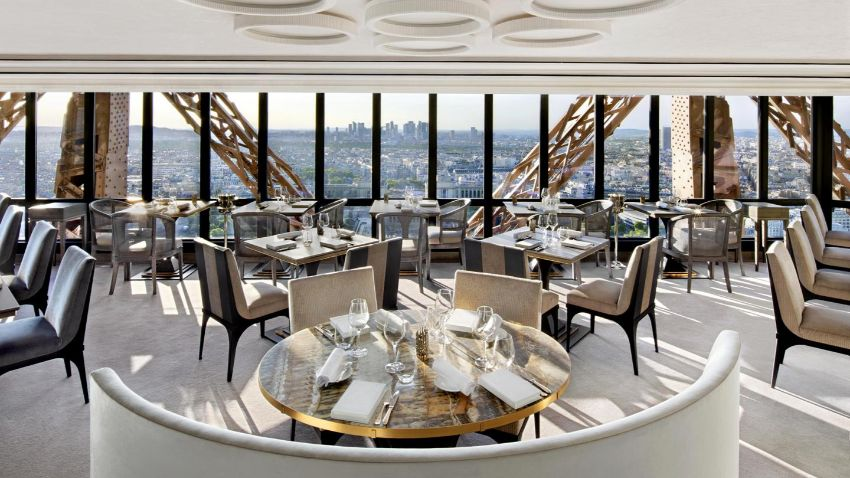 Le Jules Verne - The Eiffel Tower's Luxury Restaurant