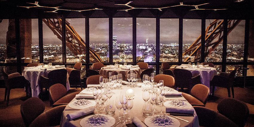 Le Jules Verne - The Eiffel Tower's Luxury Restaurant