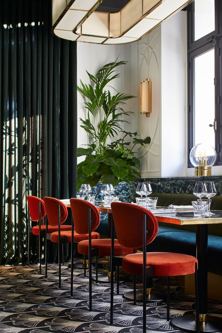 Beefbar Paris - Luxury Restaurant Design By Humbert & Poyet