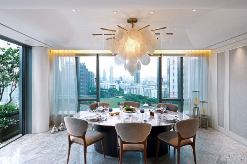 Contemporary Dining Room Designs by AB CONCEPT