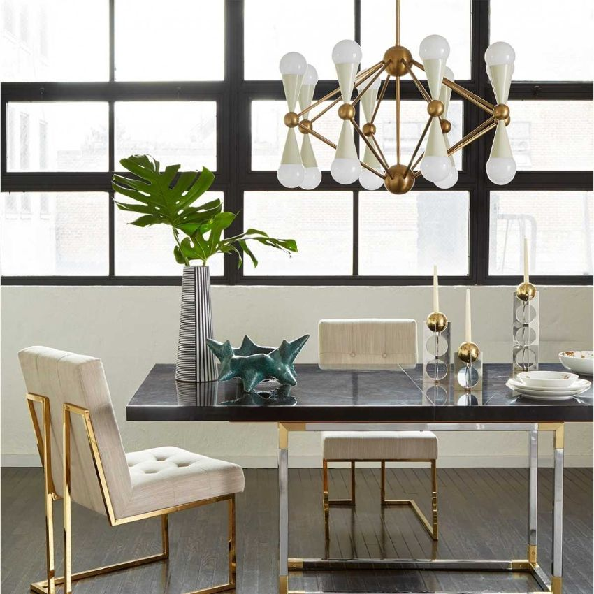Modern Dining Table Designs by Jonathan Adler