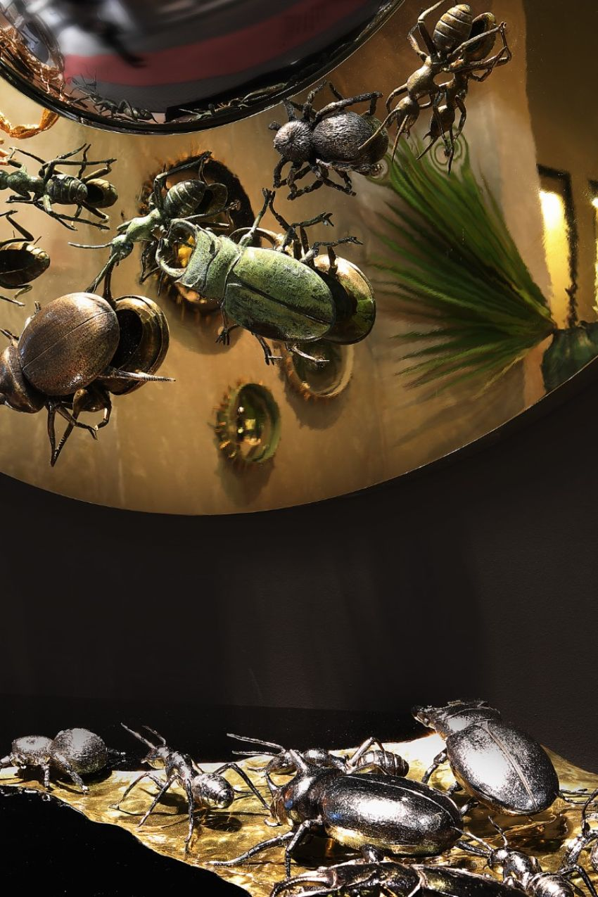 The Metamorphosis Collection - Luxury Furniture Conquered By Bugs