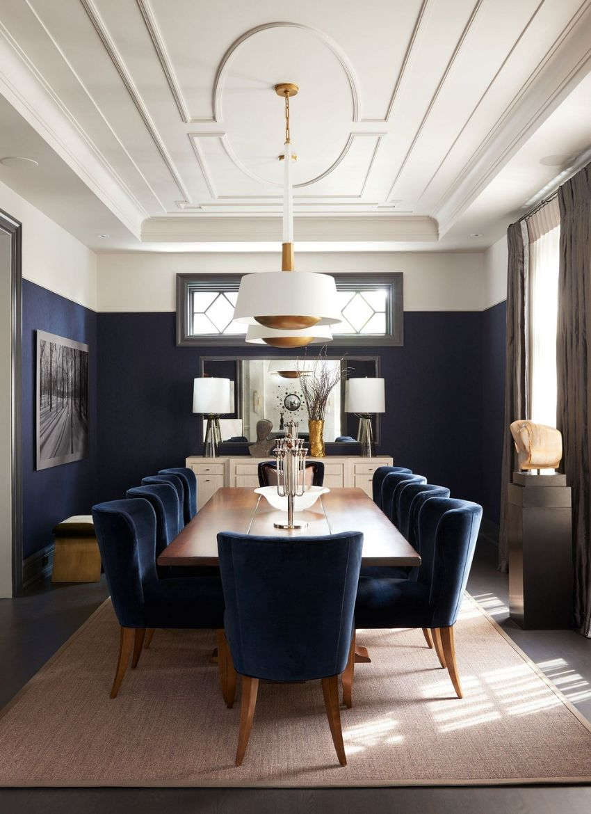 Luxury Dining Room Designs by Elizabeth Metcalfe