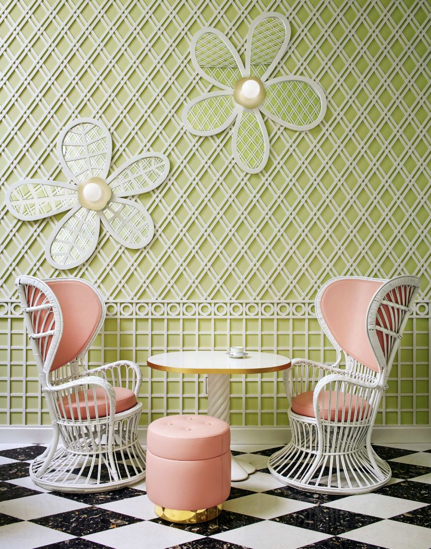 Artsy And Luxury Restaurant Designs By India Mahdavi