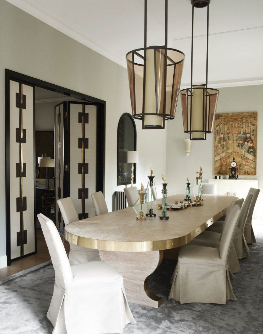 Get Inspired by These Modern Dining Room Designs by Achille Salvagni