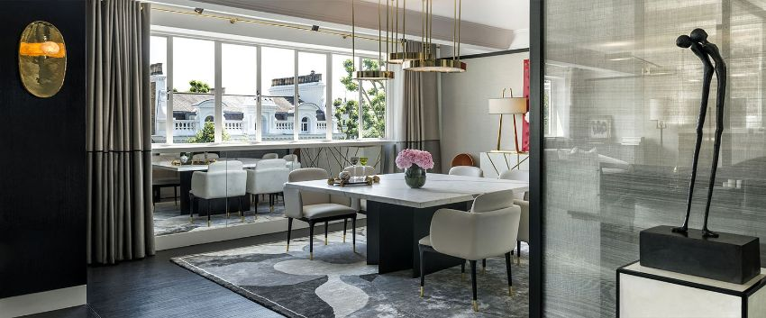 Modern Dining Room Designs by Achille Salvagni