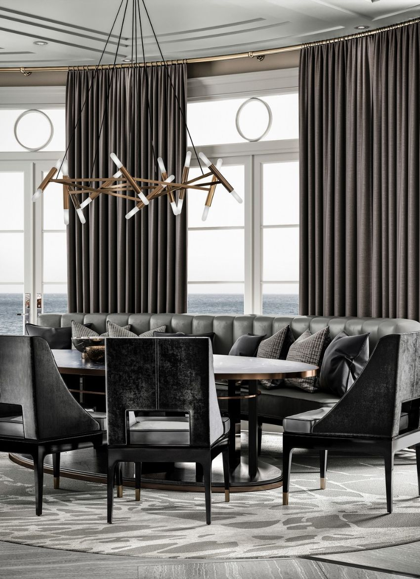 Modern Dining Room Ideas Designed by Ferris Rafauli