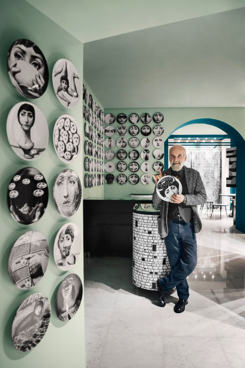 Artsy and Luxury Furniture by Fornasetti