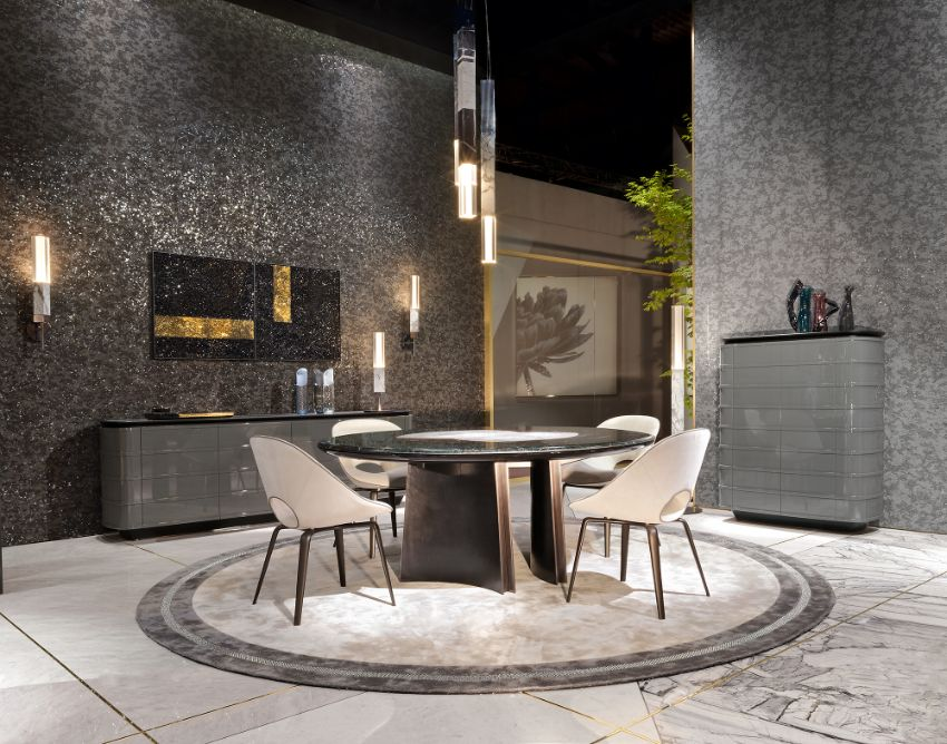 Visionnaire's Exquisite Dining Room Ideas