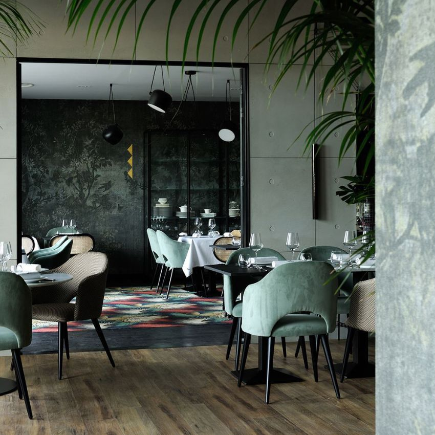 La Forêt Noire - A Luxury Restaurant Design by Claude Cartier Studio