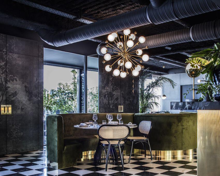 La Forêt Noire - A Luxury Restaurant Design by Claude Cartier Studio