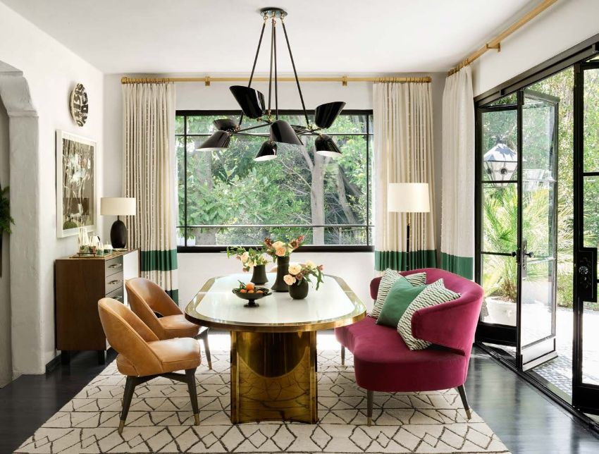 Martyn Lawrence Bullard's Exquisite Dining Room Designs To Inspire You martyn lawrence bullard Martyn Lawrence Bullard's Best Celebrity Dining Room Designs Martyn Lawrence Bullards Exquisite Dining Room Designs To Inspire You 1