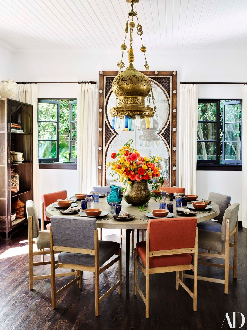 Martyn Lawrence Bullard's Exquisite Dining Room Designs To Inspire You martyn lawrence bullard Martyn Lawrence Bullard's Best Celebrity Dining Room Designs Martyn Lawrence Bullards Exquisite Dining Room Designs To Inspire You 9
