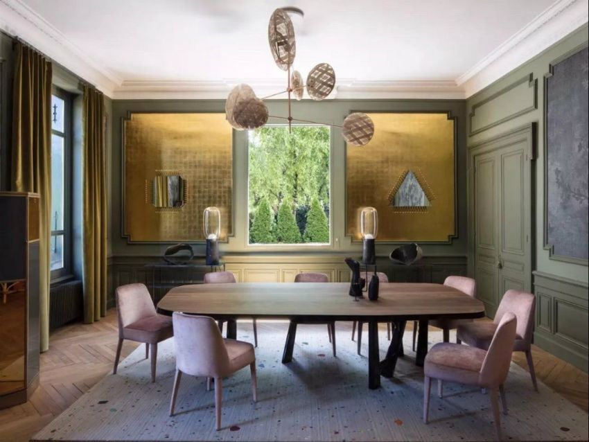 Marvelous Dining Room Projects by Claude Cartier