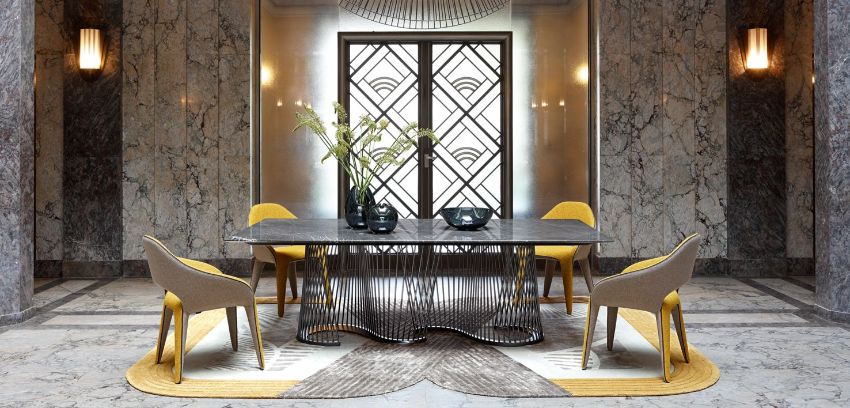Roche Bobois - Discover These Luxury Dining Room Designs