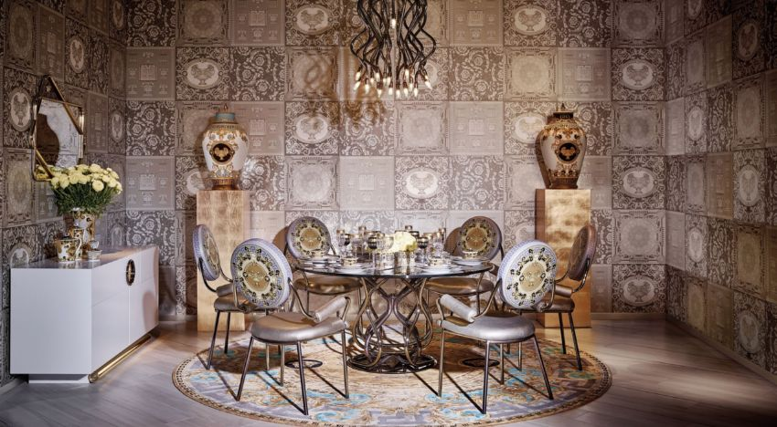 World of Versace - Luxury Tableware and Furniture For Your Dining Room